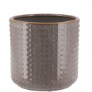 Keramik Kübel Foreo mini, D8cm, H7cm, für TO6, war